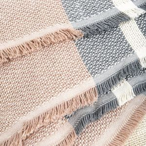 Imani Collective Bedding - Imani Collective Woven Throw Blanket in Slate